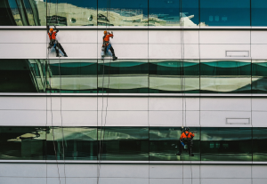 Glass Building Maintenance