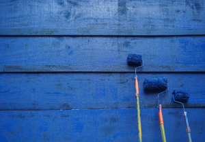 Wall of Blue